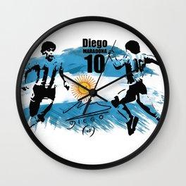 Diego Vs Diego Wall Clock