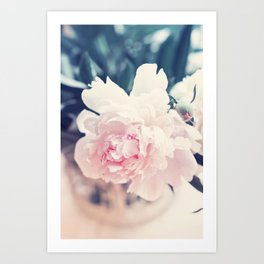 Beautiful Peony Flower Art Art Print