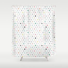 Connectome Shower Curtain