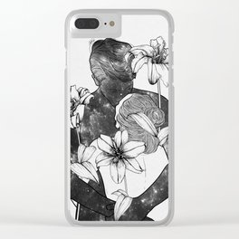 You are my flowery drug. Clear iPhone Case
