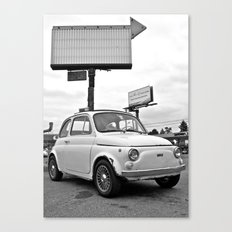 Fiat 500 Forever Canvas Print
