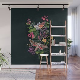 Hummingbird Moth Wall Mural