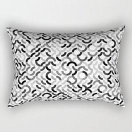 Rotated Arcs 01, Seed 7/90 Rectangular Pillow