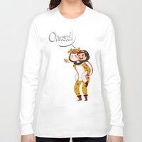 onward Long Sleeve T-shirts featuring Onward! by Jean