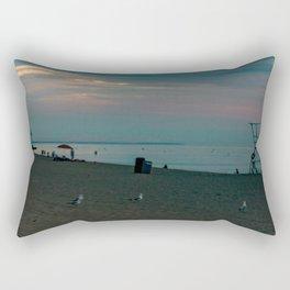 grand bend panorama during sunset Rectangular Pillow