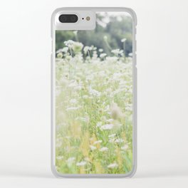 In a Field of Wildflowers Clear iPhone Case