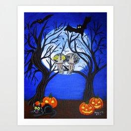 Halloween-6 Art Print