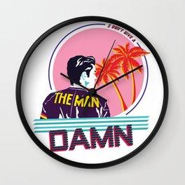 The Man Wall Clock