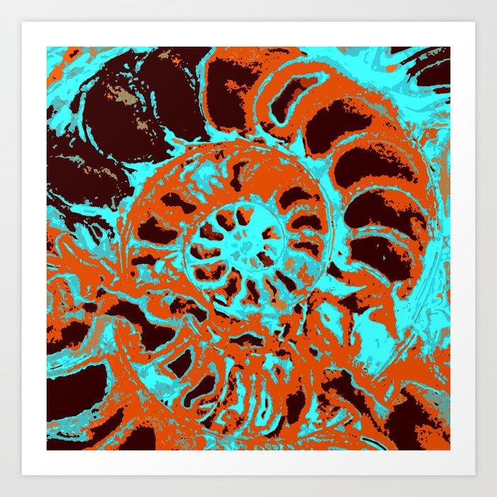 """Ammonite"" Kunstdrucke"