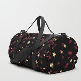 The night sky. Stars Duffle Bag