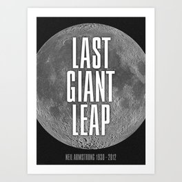 Last Giant Leap Art Print