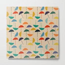 Sun umbrella Metal Print