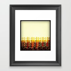 The End of Summer Framed Art Print