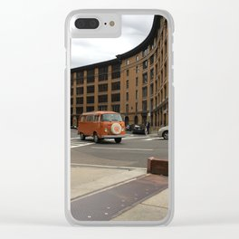 Boston Buggy Clear iPhone Case