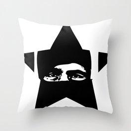 Rebel Star Throw Pillow
