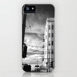 Inner Liquors Black & White San Francisco iPhone Case