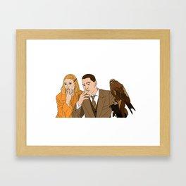 The Royal Tenenbaums - Margot and Richie Framed Art Print