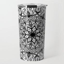 Mandala: ornate and detailed Travel Mug