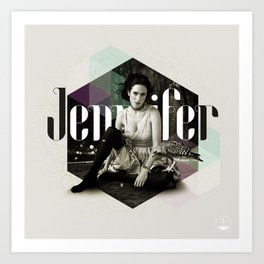 Divas: Jennifer Connelly. Art Print