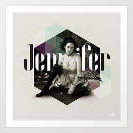 Divas: Jennifer Connelly. Art Print