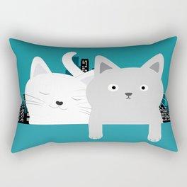 City Cats Rectangular Pillow
