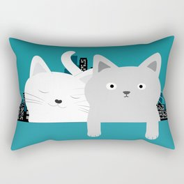 City Cats Rectangular Pillow