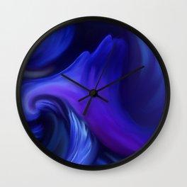 MIDNIGHT MUSHROOM Wall Clock