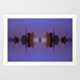 Skyline Symmetry in Toronto, Ontario  Art Print