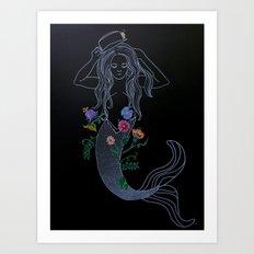 Foxy Roxy Art Print