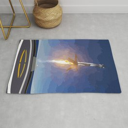 The Booster Has Landed Rug