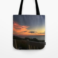 Rocking away at Castle Hill Tote Bag