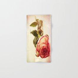 Pink Rose Hand & Bath Towel
