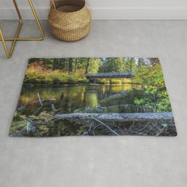 Fall at Clear Lake, No. 1 Rug