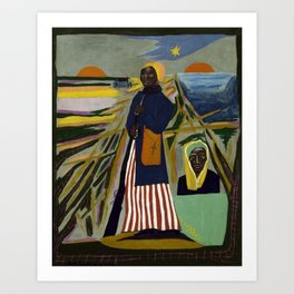African American Masterpiece 'Experience America Harriet Tubman' by William Johnson Art Print