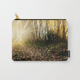 Walking cross autumn Carry-All Pouch