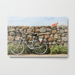 Bicycle, France Metal Print