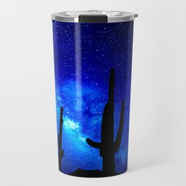 The Milky Way Blue Travel Mug