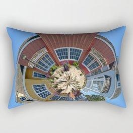 Planet Oxnard Harbor Houses Rectangular Pillow