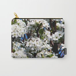 Pear Tree Flowers 2 Carry-All Pouch