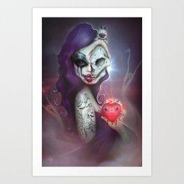 2013 Horror Girl Art Print