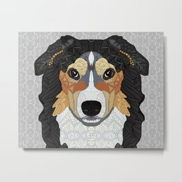 Zeke - mountain dog Metal Print