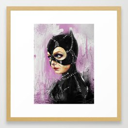 Meow! Framed Art Print