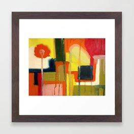 City in the Sun Framed Art Print