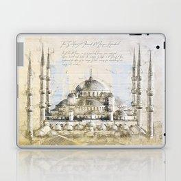 Blue Mosque, Istanbul Turkey Laptop & iPad Skin