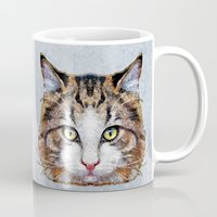 meow Mugs featuring MEOW by Ancello