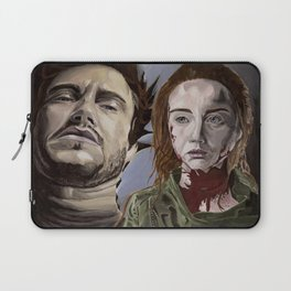 Abigail and Will 2., acrylic painting Laptop Sleeve
