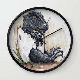 Baby Raptor Wall Clock
