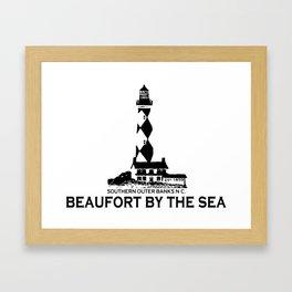 Beaufort - North Carolina. Framed Art Print