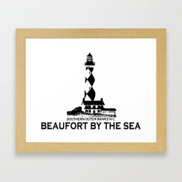 Beaufort - North Carolina. Framed Art Print