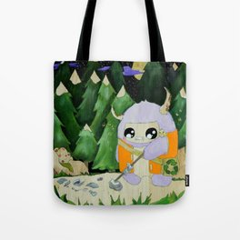 yeti of the night Tote Bag